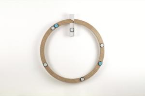 ReMind a la forme d'un calendrier mural circulaire