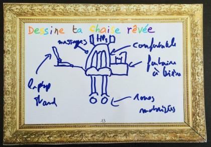 Dessine ta chaise idéale (FLUPA-UX Days, 2015)