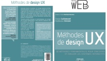Couverture livre methodes de design UX