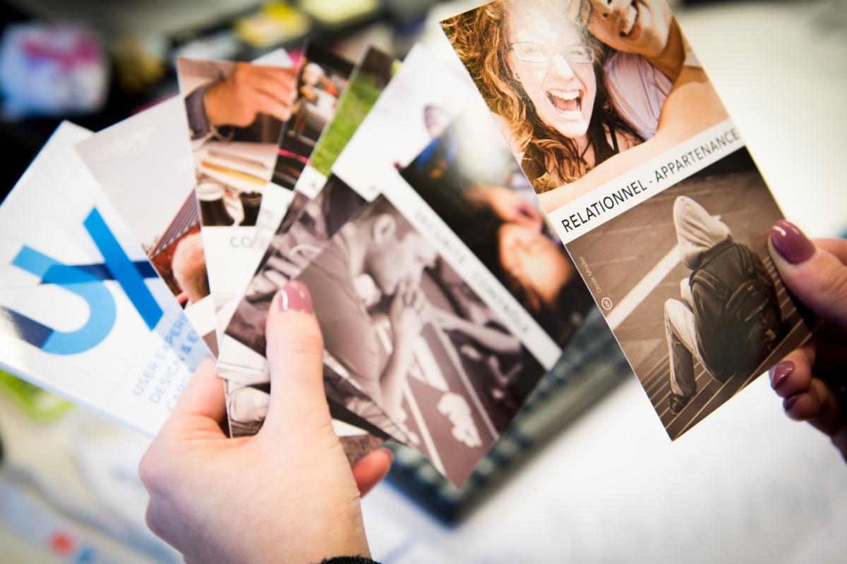 UX Cards - une approche psychologique du design UX