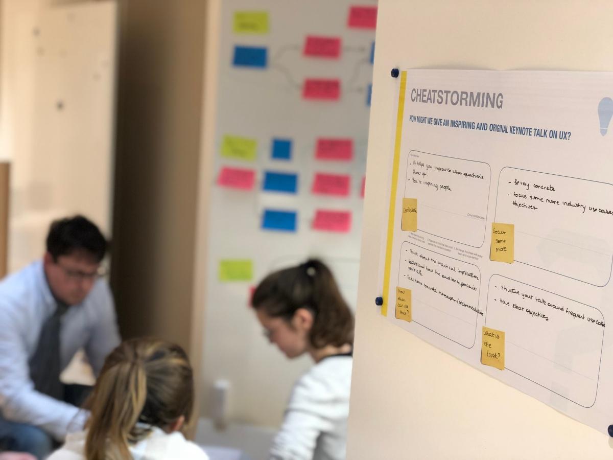 Cheatstorming : brainstormer sans générer d'idées
